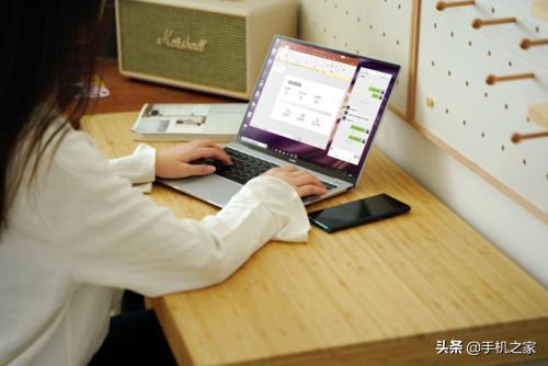 """一碰同屏 华为新款MateBook X Pro让手机变""""大屏"""""""