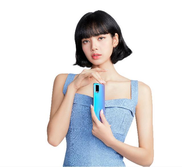 LISA代言vivo S7定妆照曝光 轻薄质感实锤了
