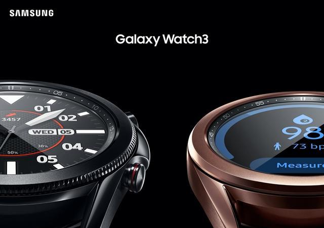 三星Galaxy Watch3和三星Galaxy Buds Live正式發布